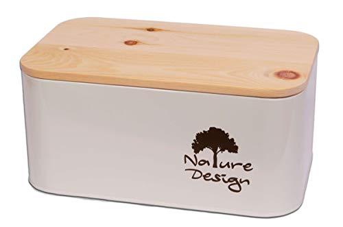 Dekobox Brotbox aus Metall und...