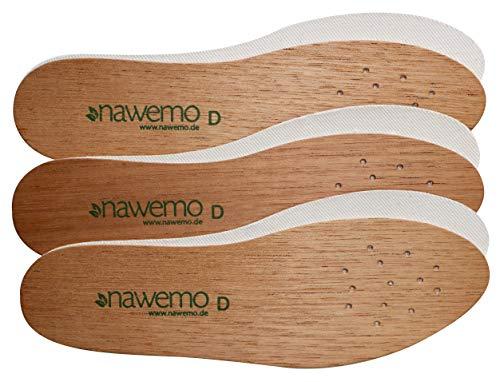 Nawemo 3er Pack/3 Paar Zedernholzsohlen...