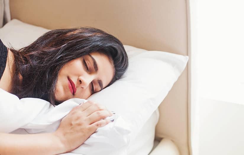 Kopfkissen mit Zedernspänen - für einen entspannten Schlaf